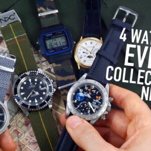 4 Watches Every Man Needs: What's The Perfect Collection Size? #GIAJ15
