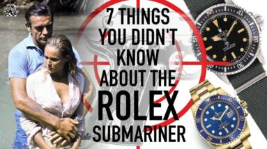 7 Things You Didn't Know About The Rolex Submariner Watch - GIAJ #16