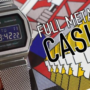A 38mm Full Steel Casio Watch: What They Got Right & So Wrong (A1000M)