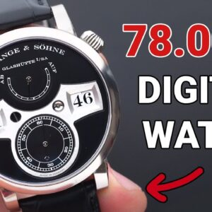 A 78.000$ digital watch: A. Lange & Söhne Zeitwerk | Jenni Elle