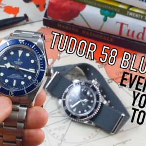 A Deeper Look At Tudor: The 58 Blue Bay Vs Submariner & Rolex Watches