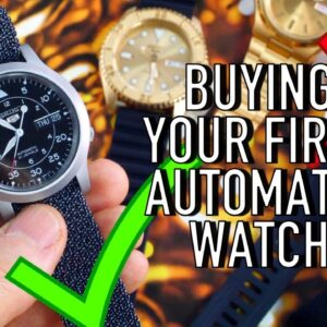 Buying Your First Automatic Watch? Why Seiko 5 Is The Best $100 - $250