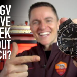 Can I Survive A Week Without A Watch? + Oris Aquis 1K Bargain Unboxing