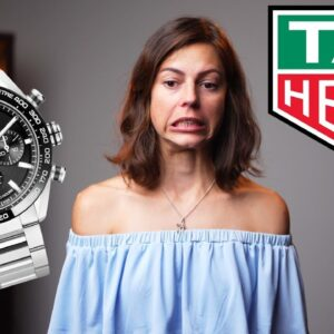 Here's the current TAG Heuer situation.