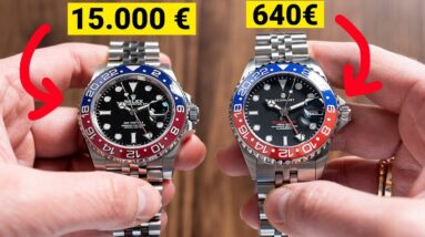 I've Bought A 640€ ROLEX-HOMAGE Watch!