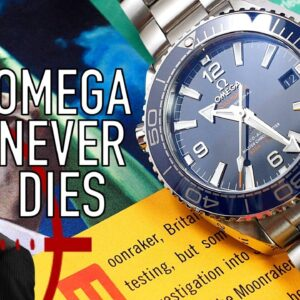 Omega's Most Underrated Seamaster: 39mm Planet Ocean Dive Watch Review