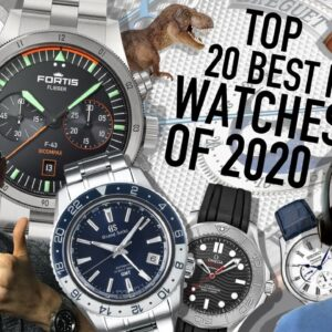 Our Favorite New Watches Of 2020: Seiko, Omega, Tudor, G-Shock & More