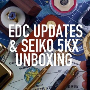 Seiko 5KX Watch Unboxing, EDC Upgrades & First Impressions (SRPE74K1)