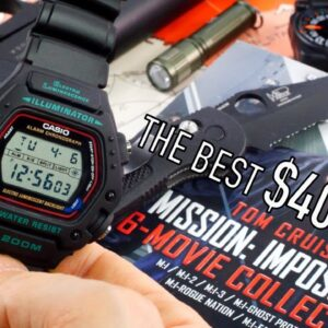 The $35 Mission Impossible Watch DW2901V: My Favorite Best New Beater