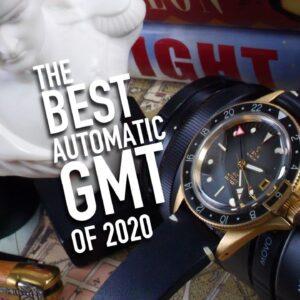 The Best Automatic GMT Watch Under $1500: Yema Superman Bronze 39mm
