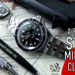 The Most Underrated & Historic $1000 Dive Watch: Yema Superman 39mm