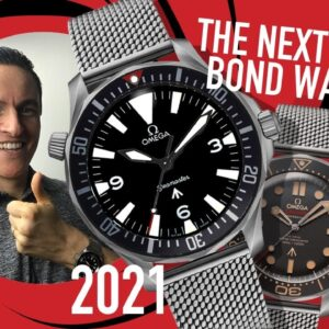 The Next James Bond Omega?! The Ultimate 39mm Military Seamaster Watch