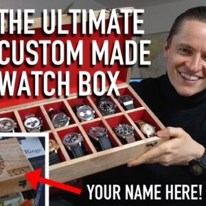 The Ultimate Bespoke Watch Collection Box: Custom, Handmade & Engraved