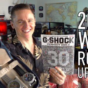 War Room Update: Watch Collecting, G-Shock, Movies & Desk Accessories