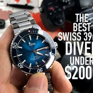Why The Oris Aquis Is The Best 39mm Dive Watch Between $1000 & $2000