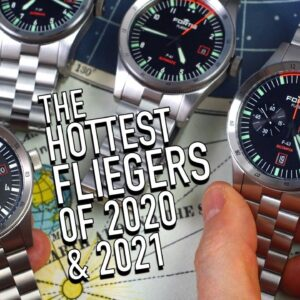 How Fortis Reinvented The Flieger Watch: F-41, F-39, GMT & F-43 Review
