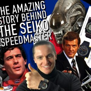 How Seiko, Aliens & Giugiaro Made History: The Making Of A Watch Icon