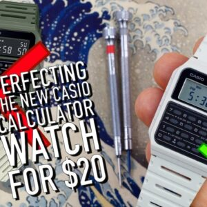 Perfecting The New Casio Calculator Watch: Easy 5 Minute $20 DIY Mod