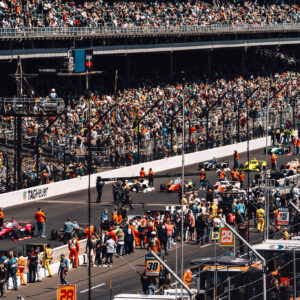 inside pit row with tag heuer at the 2021 indy 500