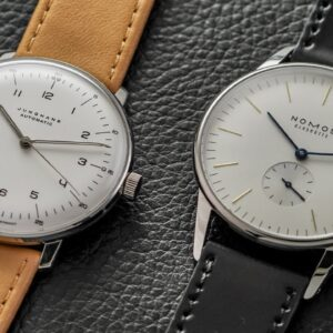 NOMOS vs Junghans: What to Consider Before Buying - Junghans Max Bill & NOMOS Orion