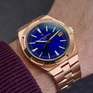 A STUNNING Luxury Sports Watch - The Vacheron Constantin Overseas 4500v