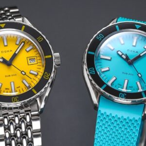 An Underrated & Colorful Diver - Doxa Sub 200 (History & Review)