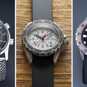 The BEST Dive Watches Affordable to $3,000 (2021) - Orient, Doxa, Sinn, Marathon, Longines, & MORE