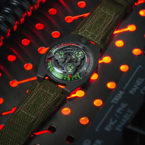 collective horology urwerk and the intrepid museum launch space age watch