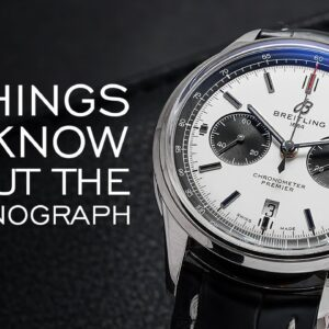 Four Things to Know About the Chronograph - A Comprehensive Guide 2021