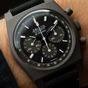 One of the Coolest Chronographs You Can Buy - Zenith Chronomaster Revival Shadow