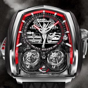 jacob co s new 580000 fast furious timepiece is just as insane as youd expect