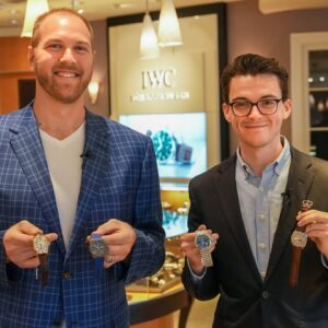 Watch Shopping with NFL All-Pro Mitchell Schwartz: Building a Perfect Watch Collection for $60,000