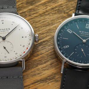 Two Striking New NOMOS Watches - Tangente Neomatik 41 Update & Metro Neomatik 41 Update