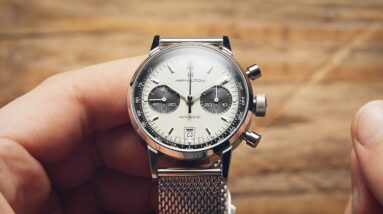 Watches That Look Way More Expensive Than They Really Are: Hamilton Intra-Matic   Watchfinder & Co.