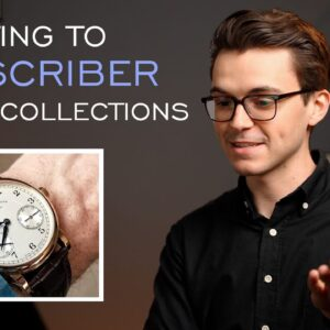 Reacting to Subscriber Watch Collections & *GIVEAWAY WINNER ANNOUNCEMENT*