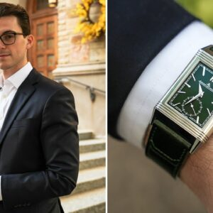 An Iconic Dress Watch Now in Green - Jaeger-LeCoultre Reverso Tribute Small Seconds