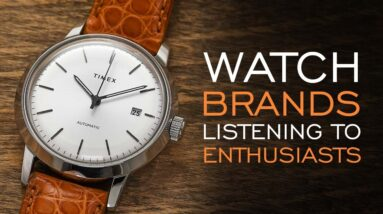 Six Examples of Watch Brands Listening to Enthusiasts