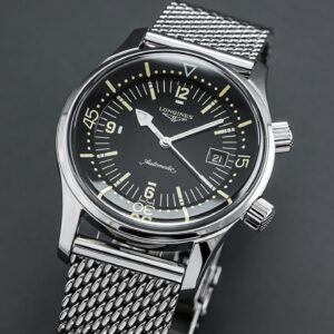One of the Most Attractive Heritage Dive Watches - Longines Legend Diver Review