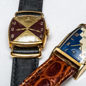 the one of a kind elgin watches created by legendary industrial designer raymond loewy
