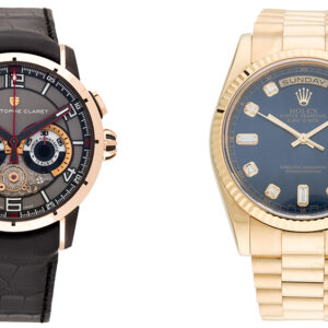 the realreals watch sale features limited edition timepieces from hublot piaget and more