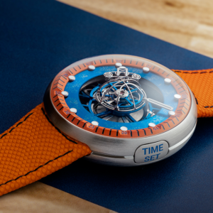 this 100000 space jam tourbillon pays tribute to looney tunes characters and basketball