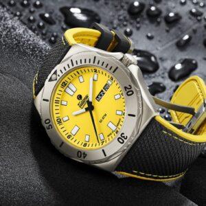tutima takes the seas by storm with m2 seven seas titanium watches