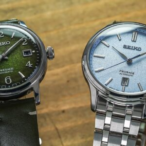 Two New Crazy Dial Seikos For A Nice Price - Seiko Presage SRPF41 & SRPF53