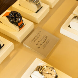 watches of switzerlands hamptons pop up shop is an airstream trailer filled with vintage rolexes