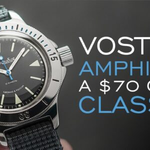 Why this $70 Watch Has a Cult Following - Vostok Amphibia History & Review