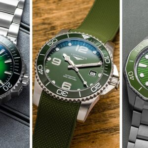 """Rolex 116610LV """"Hulk"""" Alternatives - More Attainable Dive Watches with Green Dials"""