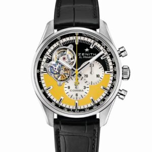 a closer look at the zenith cohiba cigars 55th anniversary chronomaster open watch
