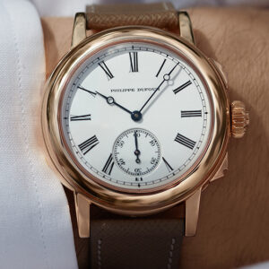 a rare philippe dufour watch just sold for a record breaking 7 6 million