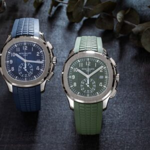 a review of the patek philippe aquanaut flyback chronograph ref 5968g