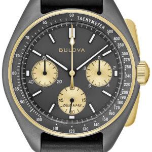 bulova unveils 50th anniversary lunar pilot limited edition watch